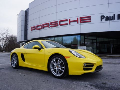 Certified Pre-Owned 2014 Porsche Cayman  RWD 2dr Car