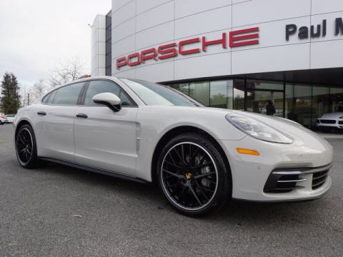 New 2018 Porsche Panamera 4S Executive AWD