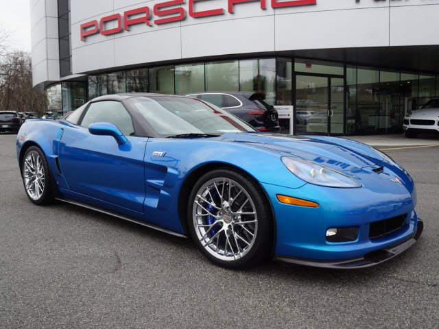 Pre Owned 2009 Chevrolet Corvette ZR1 W/3ZR