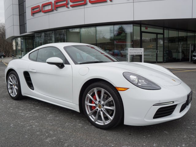 Pre Owned 2018 Porsche 718 Cayman S 2dr Car In Parsippany