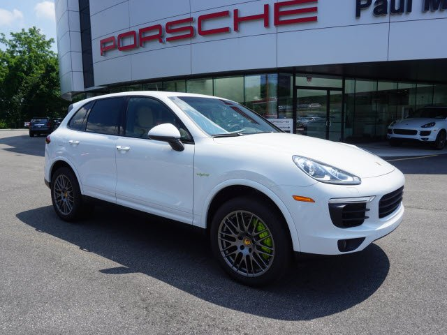pre owned 2017 porsche cayenne s e hybrid platinum edition sport utility in parsippany 2170858. Black Bedroom Furniture Sets. Home Design Ideas